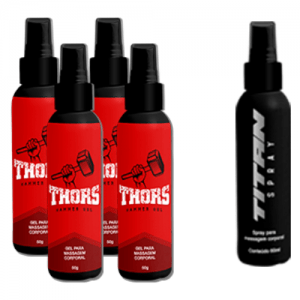 hammer gel kit com 4 com spray