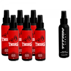 hammer gel kit com 6 com spray